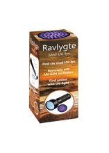 Billede af RAVLYGTE SORT MED 51 UV-LED 14,3X5,2X3,5 CM  EKSKL. 3 AA