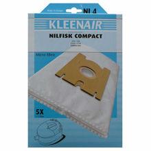 Billede af STØVPOSER NI-4 5+1F MICROPOSE  NILFISK COMPACT C10, 20