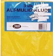 Billede af ALT MULIGKLUDE Á 3 STK.38x38   1 BLÅ - 1 GUL - 1 RØD