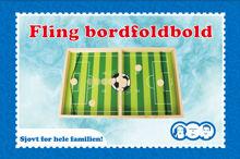 Billede af FLING BORDFODBOLD I TRÆ STR. 39 X 24 X 2,5 CM