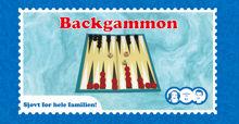 Billede af BACKGAMMON I TRÆ STR. 29,8 X 15,5 X 3,3 CM.