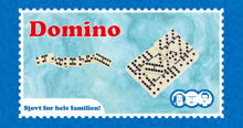 Billede af DOMINO SPIL I UREA STR. 29,8 X 15,5 X 3,5 CM.