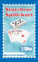 Billede af SPILLEKORT STOREBROR STR. 14 X 8,7 CM.