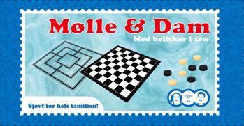 Billede af MØLLE/DAM M. BRIKKER I TRÆ