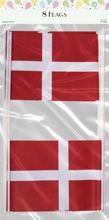 Billede af FLAG PÅ PIND HURRA 20 X 28 CM Á 8 STK PAPIR