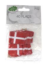 Billede af FLAG PÅ PIND Á 40 STK.